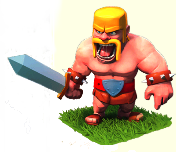 Варвар в Clash of Clans